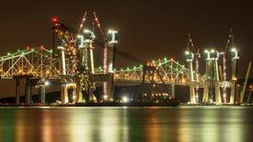 Строительство моста стоковые изображения rf