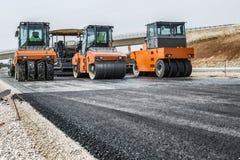 Строительство дорог Стоковое Изображение