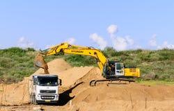 Строительство дорог Стоковое Фото