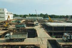 Строительство Стоковая Фотография RF