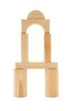 строить блоков деревянный Стоковая Фотография RF