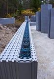 строить блоков самомоднейший Стоковые Фото