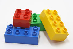 строить блоков цветастый Стоковая Фотография