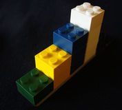 строить блоков Стоковые Фотографии RF