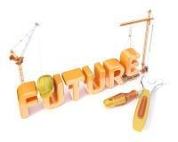 Строить будущее Стоковое фото RF