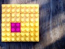 строить блоков цветастый Стоковые Фото