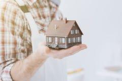 Строить ваш дом стоковое изображение rf