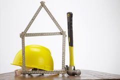 Строить ваш дом Стоковые Фото