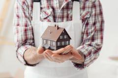 Строить ваш дом Стоковые Фотографии RF