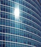 строить вполне состоя стеклянные окна Стоковое Изображение