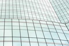 Строить красивое стекло окон. стоковые изображения rf