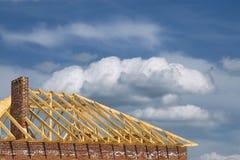 строить крышу Стоковое Изображение