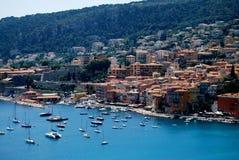 Строить обнимающ побережье Монако Стоковое Фото