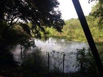 Строить озеро стоковая фотография rf