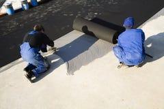 строить работников беговой дорожки Стоковое Фото