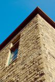 строить старый stonewall Стоковая Фотография RF