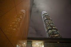 Строить центр международных финансов 2 Стоковое Изображение RF