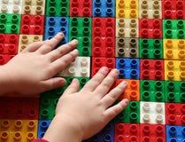 строить 3 блоков Стоковое Изображение RF