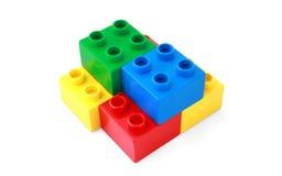 строить 3 блоков Стоковые Изображения RF