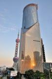 строить morden востоковедная башня shanghai перлы Стоковое Изображение RF