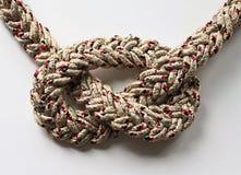Строка веревочки узла петли Стоковое Изображение RF