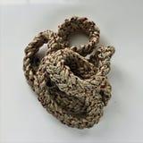 Строка веревочки узла петли Стоковая Фотография