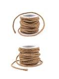 Строка веревочки Decorational на катушке Стоковая Фотография