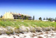 Строка викторианских bluestone и песчаника 3 террасы рассказа, Стоковые Фото