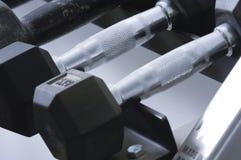 Строка гантелей Стоковая Фотография RF