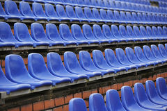 Строка голубых мест Стоковое Фото