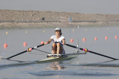 СТРОКА: Европейские чемпионаты rowing Стоковое фото RF