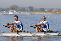 СТРОКА: Европейские чемпионаты rowing Стоковое Фото