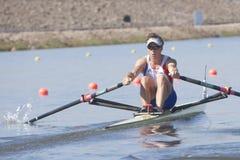 СТРОКА: Европейские чемпионаты rowing Стоковое Изображение RF