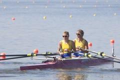 СТРОКА: Европейские чемпионаты rowing Стоковая Фотография