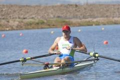 СТРОКА: Европейские чемпионаты rowing Стоковые Изображения