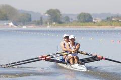 СТРОКА: Европейские чемпионаты rowing Стоковое Изображение