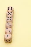 Строка деревянной кости Стоковая Фотография