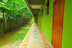 Строка комнаты для размещещния стилем сельской местности Стоковые Изображения RF