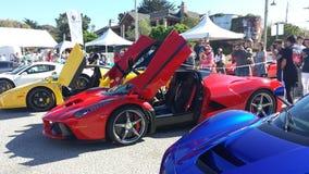 Строка 11 Конкурса DE Элегантности Cannery выставки автомобиля Стоковое Изображение