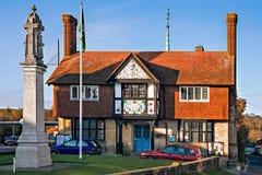 СТРОКА ЛЕСА, ВОСТОЧНОЕ SUSSEX/UK - 29-ОЕ ОКТЯБРЯ: Freshfield Hall внутри для стоковые фото
