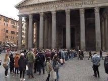 Рим пантеон стоковые изображения rf