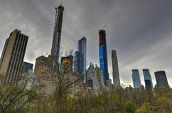 Строка миллиардера - Нью-Йорк стоковая фотография rf