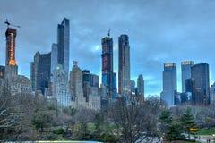 Строка ` миллиардеров - Нью-Йорк стоковое изображение rf