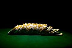 Строка обломоков покера Стоковое Фото