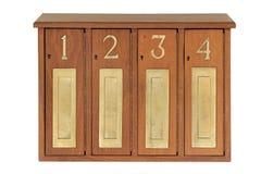 Строка почтовых ящиков Стоковая Фотография