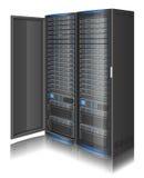 Строка серверов Стоковая Фотография RF