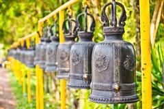Строка тайских колоколов Стоковые Фото