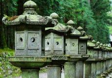 Строка японского фонарика Стоковые Фото