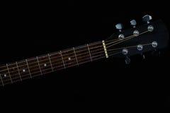 Строки гитары, акустическая гитара, аппаратура музыки, вода, выплеск, действие, движение Стоковые Изображения RF