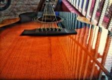 Строки гитары стоковые фото